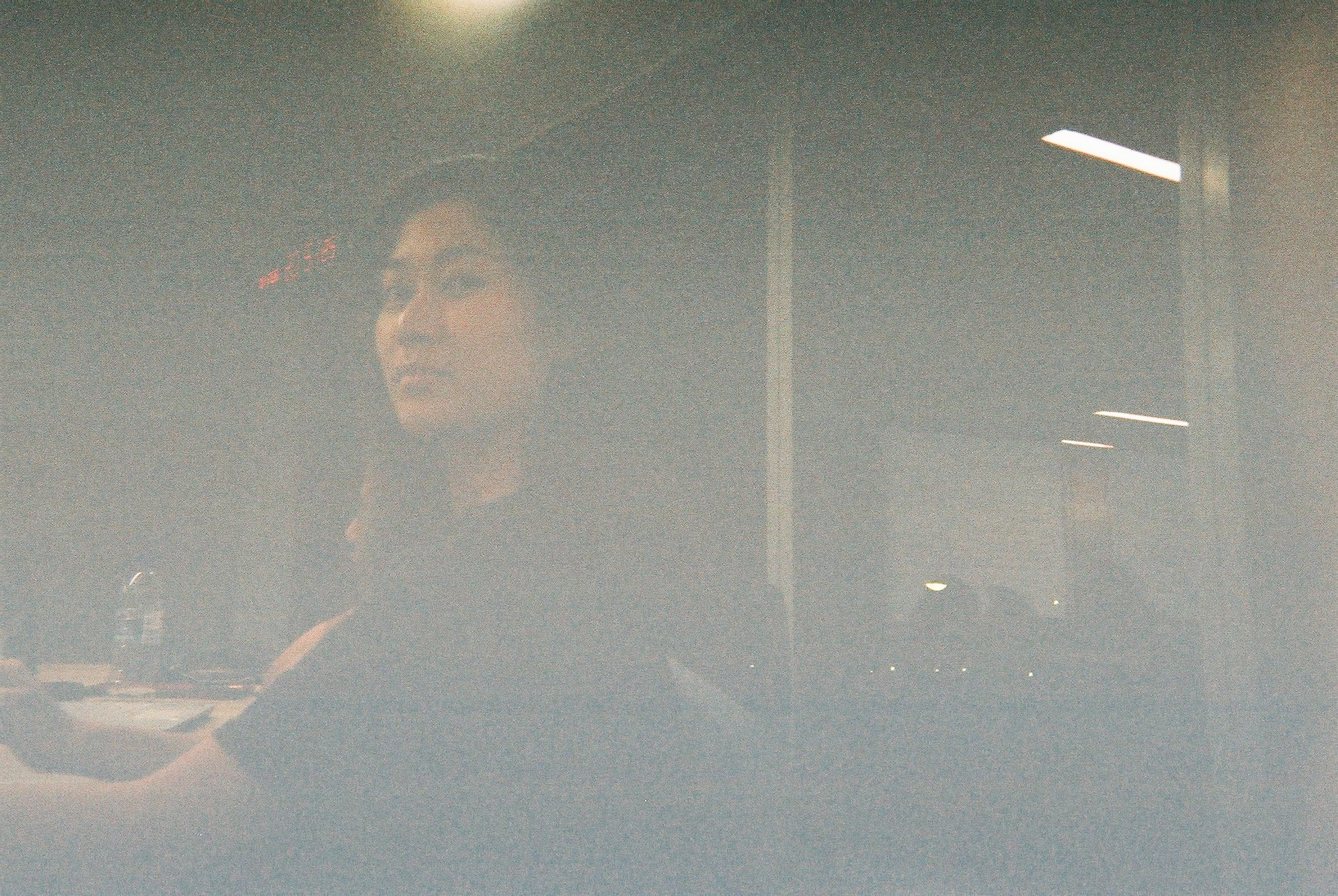 grainy film photo