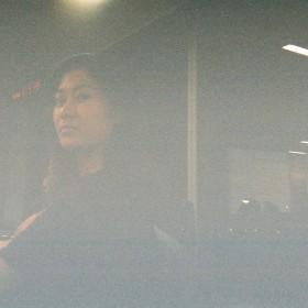 grainy film photo
