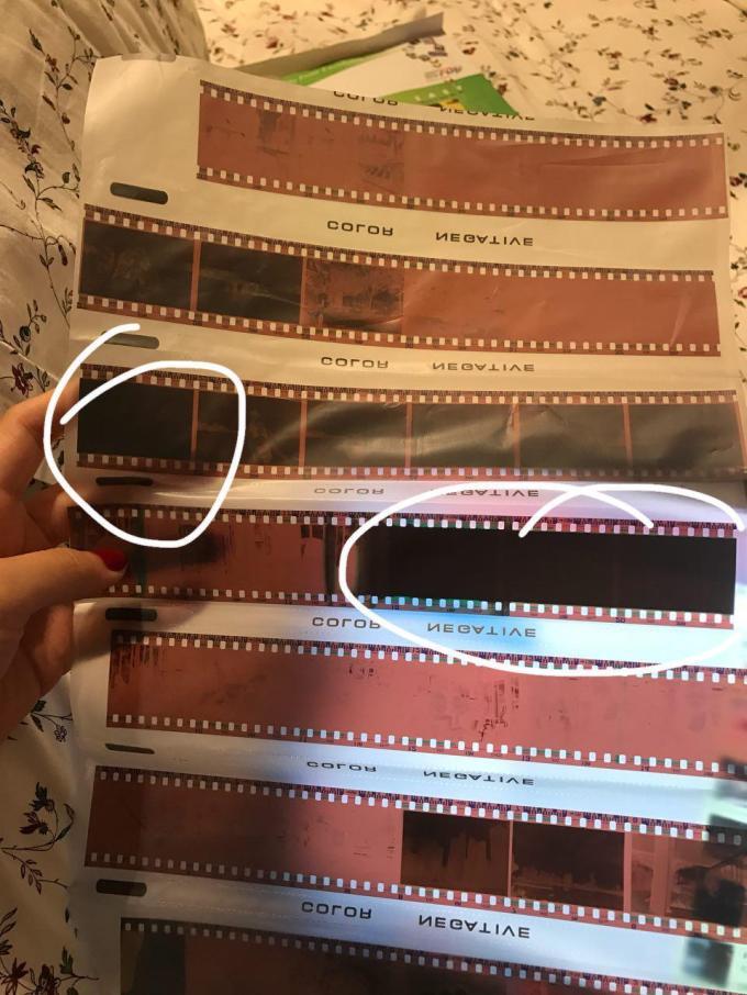 film problem blurry